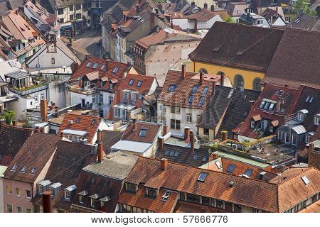 Buildings In Freiburg Im Breisgau, Germany