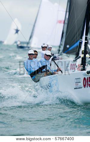 Ninkasi Wins First-ever Melges 20 World Championship