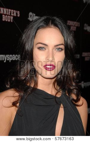 Megan Fox at the 'Jennifer's Body' Party Hosted by Myspace-IGN. Kin Lounge, San Diego, CA. 07-23-09