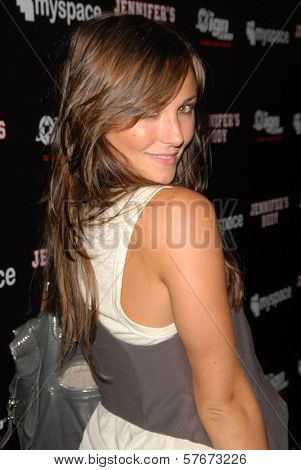Briana Evigan at the 'Jennifer's Body' Party Hosted by Myspace-IGN. Kin Lounge, San Diego, CA. 07-23-09
