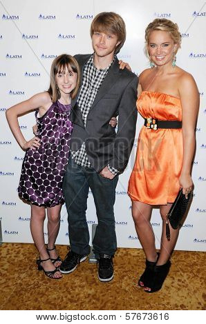Allisyn Arm with Sterling Knight and Tiffany Thornton at Disney's 'A Summer Soiree - The Magic of Mentoring'. Beverly Wilshire Hotel, Beverly Hills, CA. 07-24-09