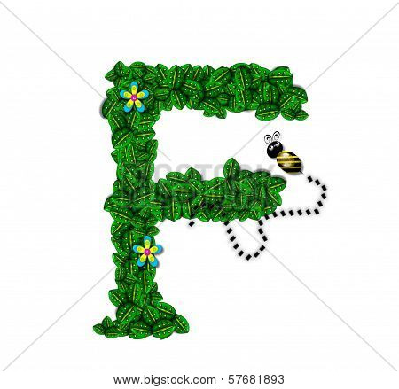 Alphabet Bee Buzz F