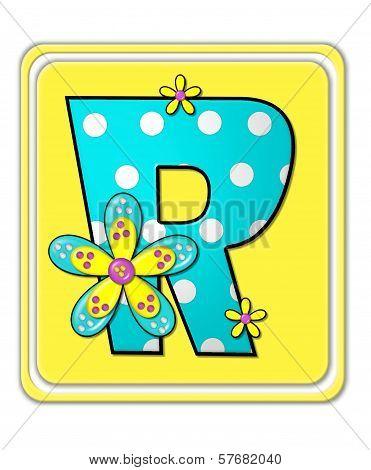 Alphabet Bright Begonia R