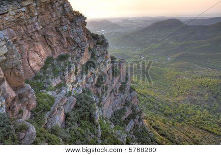 Paisaje montañoso Mediterráneo
