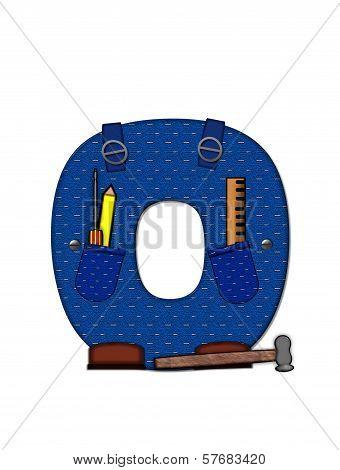 Alphabet Carpenter Tools O