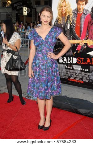 Elvy Yost at the Los Angeles Premiere of 'Bandslam'. Mann Village Theatre, Westwood, CA. 08-06-09