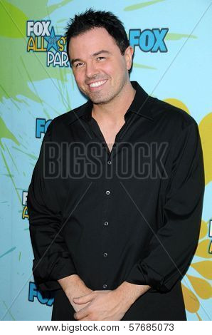 Seth MacFarlane  at FOX's 2009 All Star Party. Lanham Huntington Hotel, Pasadena, CA. 08-06-09
