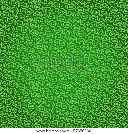 Vector Chinese cloud pattern background