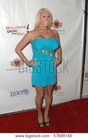 Mary Carey  at the Hollyshorts Haiti Charity VIP Webisode Celebration. Kress, Hollywood, CA. 08-08-09
