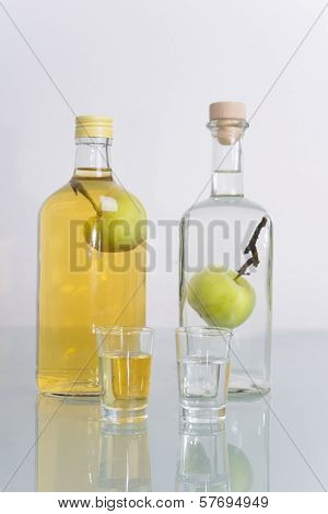Fruit In Bottle