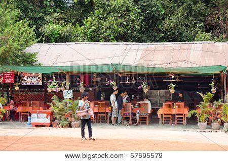 Catering At Angkor, Cambodia