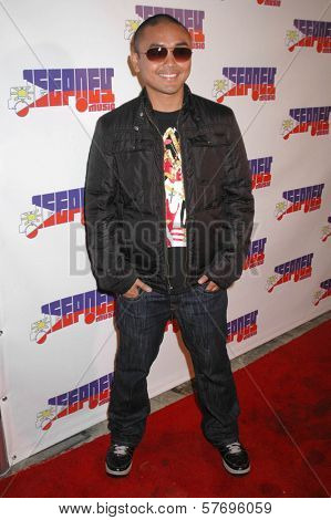J-Ricz  at the Jeepney Music Launch Party. ECCO, Hollywood, CA. 08-11-09