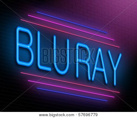 Blu Ray Concept.