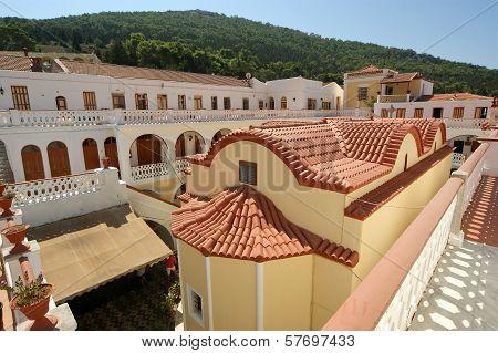 Panormitis monastery, Symi island, Greece