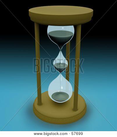 3d Triple Hourglass