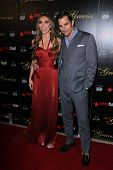 Giuliana Rancic, Bill Rancic at the 2012 Gracie Awards Gala, Beverly Hilton Hotel, Beverly Hills, CA