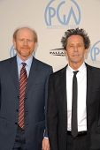 Ron Howard and Brian Grazer at the 21st Annual PGA Awards, Hollywood Palladium, Hollywood, CA. 01-24