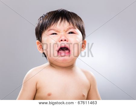 Asian baby cry