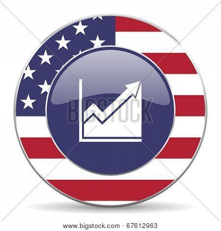 histogram american icon