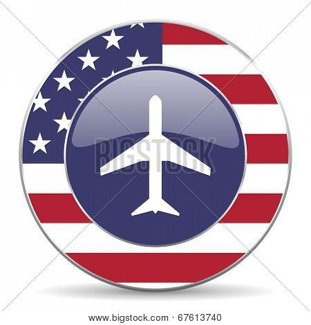plane american icon