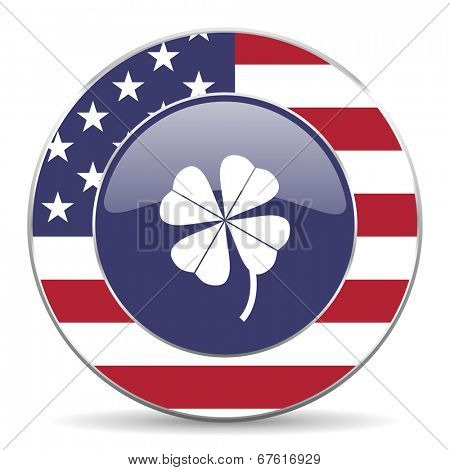 four-leaf clover american icon