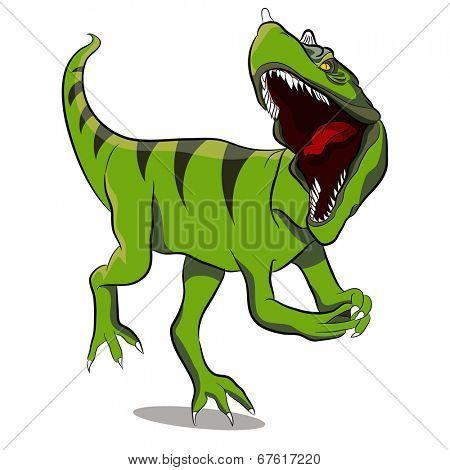 An image of a Ceratosaurus dinosaur.