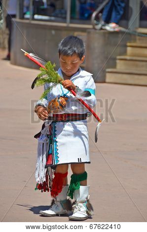 Unidentified navajo Indian child