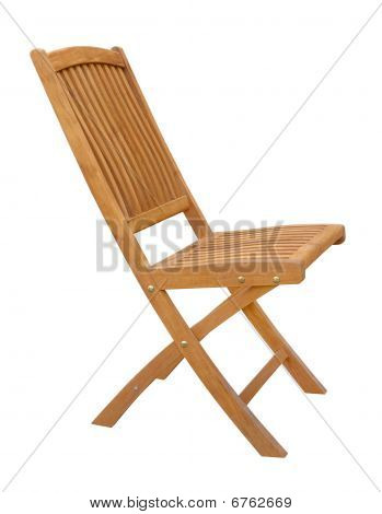 Wooden Chair Cutout