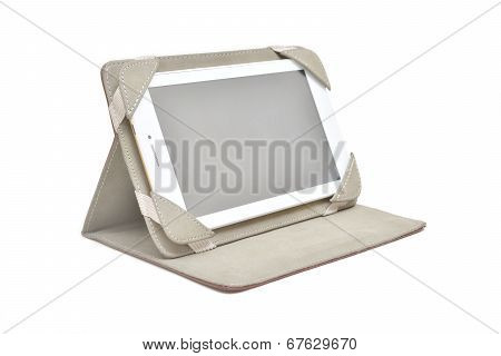 Smartphone Tablet With Universal Soft Case