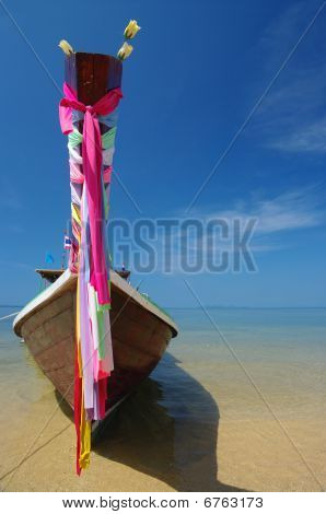 Thai Longtail Boat