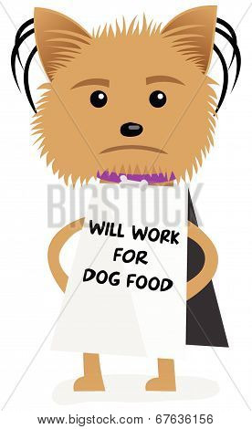 Dog Will Work For Dog Food