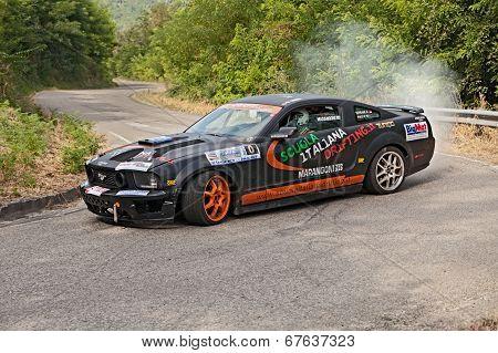 Drift Racing Car Ford Mustang