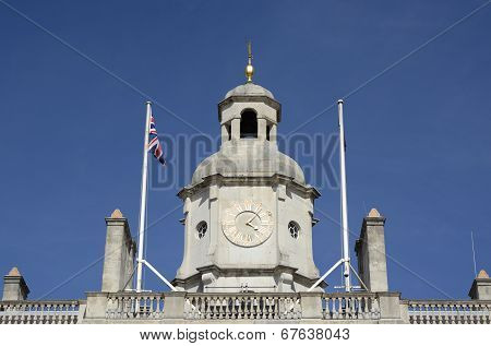 Clocktower On Admiralty Building. London. England