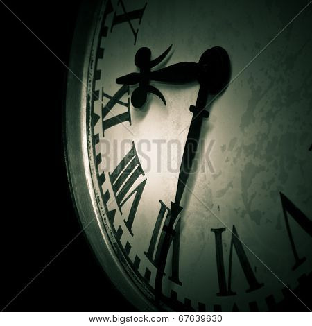Dark Clock Detail