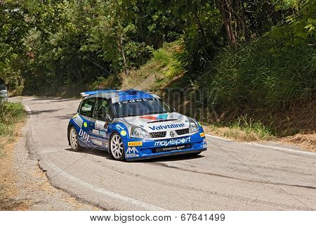 Rally Car Renault Clio