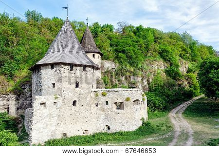Old Medieval Castle In Kamianets-podilskyi, Ukraine