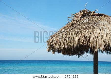 Beach Straw Umbrella
