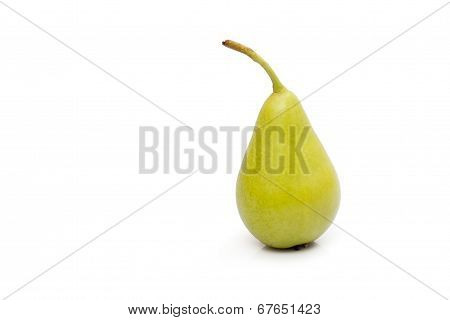 Pear On Whiite Background
