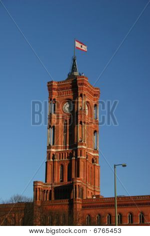 Rotes Rathaus in Berlin
