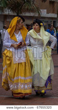 Two beautyful spanish women