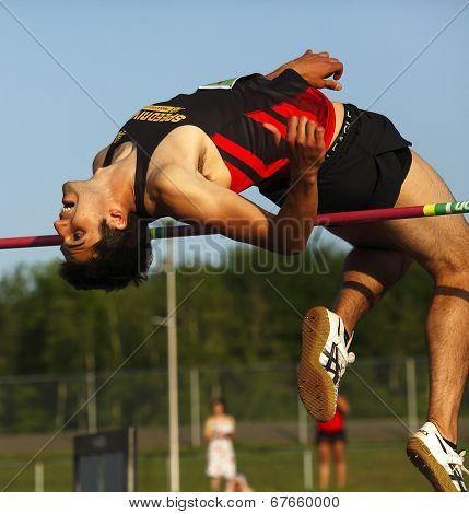 High Jump Man Bar Bend