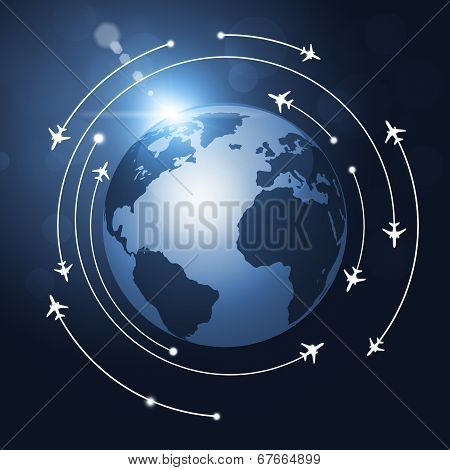 World Aviation Background