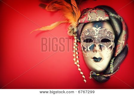 Ornate carnival mask