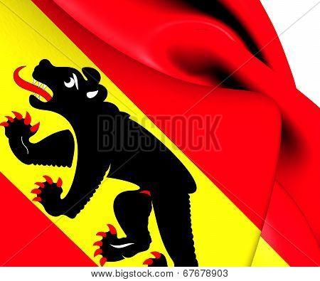 Flag Of Bern Canton