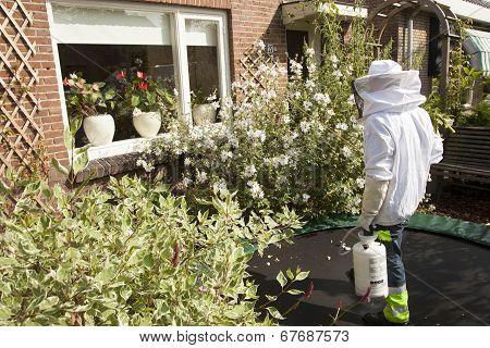 Pest Controller In Garden