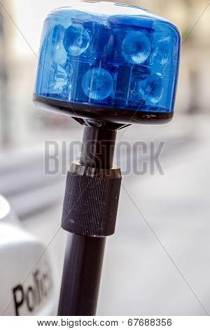 Police Motorcycle Headlight