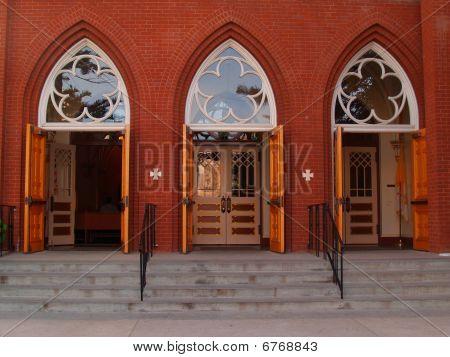 Open Church Doors