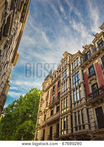 Old Buildings In Bilbao