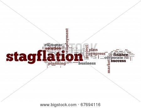 Stagflation Word Cloud