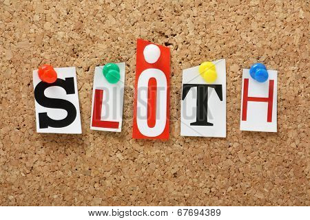 The word Sloth